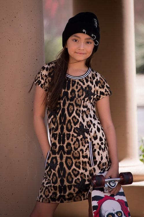 Star Leopard Dress