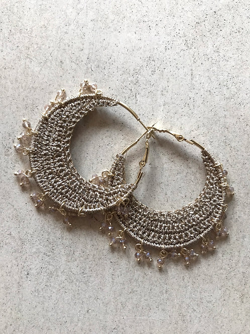 Gold Bana Earring
