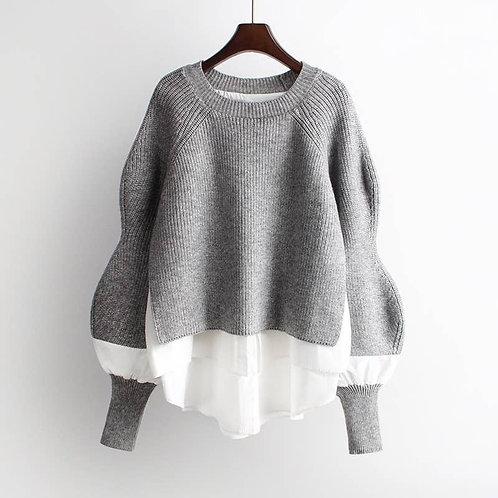 Shirt-Sweater Duo