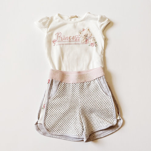 2pcTeddy Top w Shorts