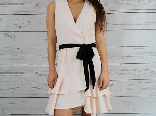 Blush Double Ruffle Dress