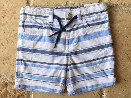 Striped Bermuda Short