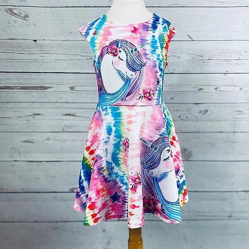 Unicorn Print Dress