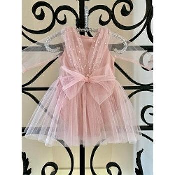 Pink Isabella Onesie