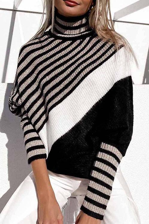 Chic Dolman Long Sleeve Sweater Top