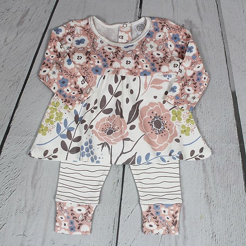 2pc Wild Roses Pant Set