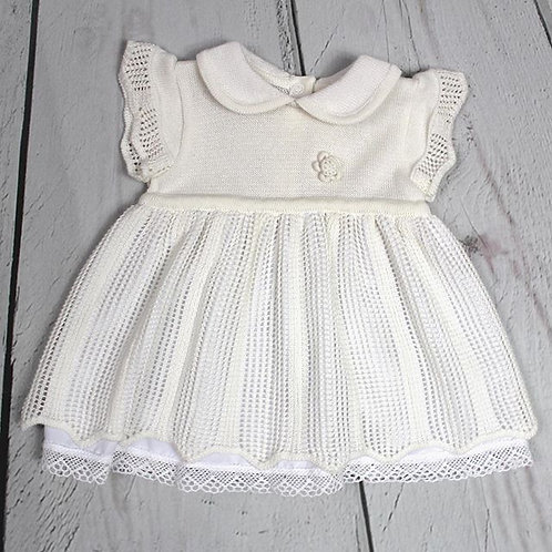 Off-White or White Knit Dress