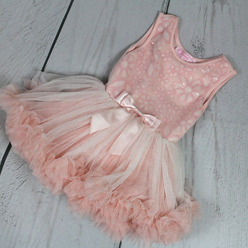 Dusty Pink Petti Dress
