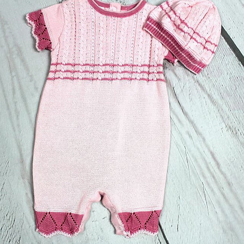 2pc Romper w/ Hat