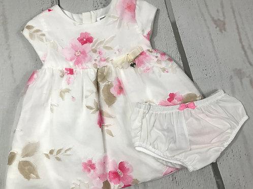 Camellia Pink Floral Dress