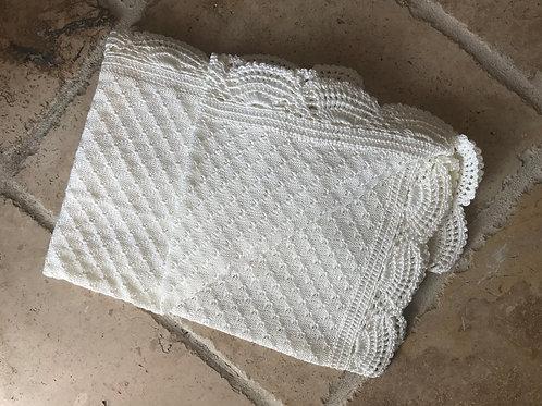 Scalloped Edge Blanket