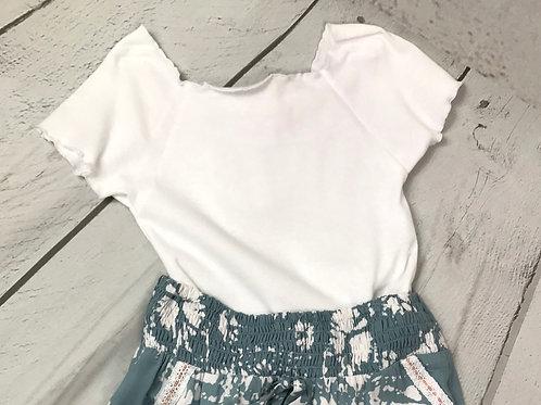 White Colette Top