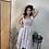 Thumbnail: Fringe Cotton Stripe Dress