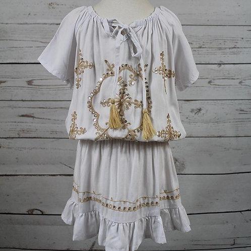 White Moonbeam Dress