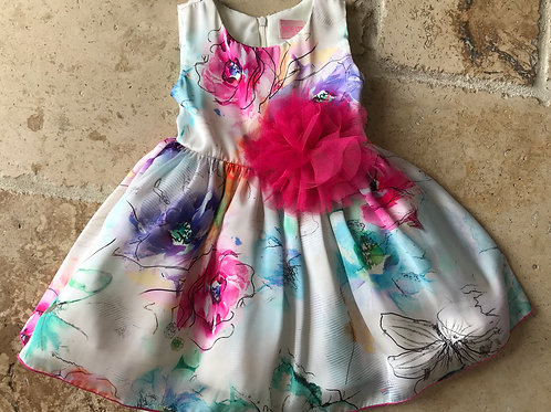 Multi-Color Party Dress
