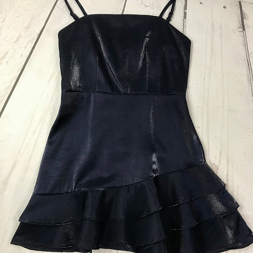 Tween Blue / Black Dress