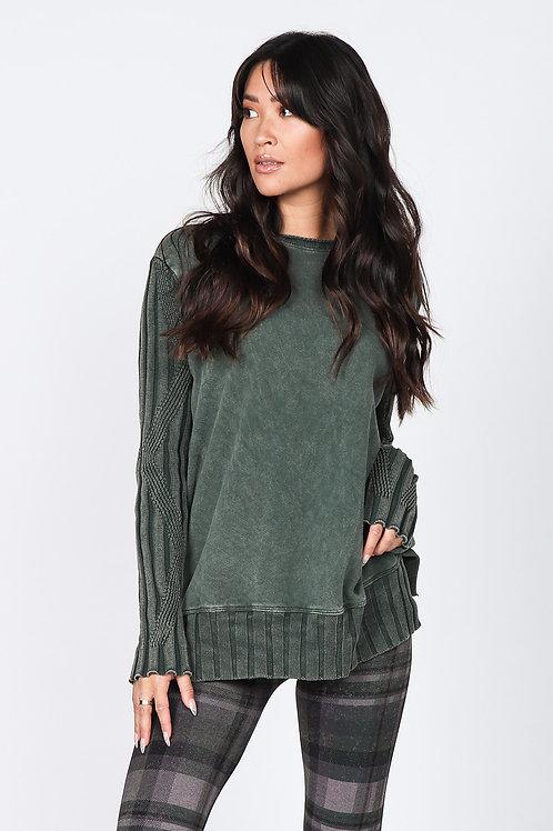 Mossy Knit x Sweatshirt