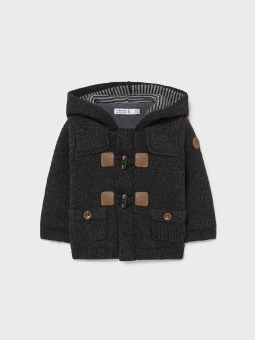Dark Grey Sweater Coat