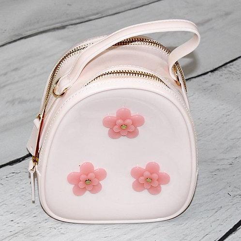 Pale Pink w/ Blush Flowers