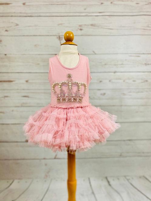 Queen Blush TuTu Dress