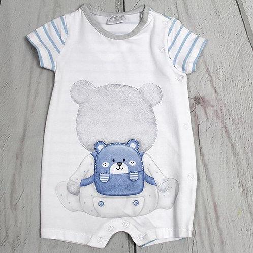 Bear w/ Backpack Romper
