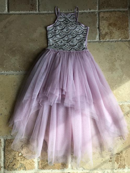 Lavender Iris Dress