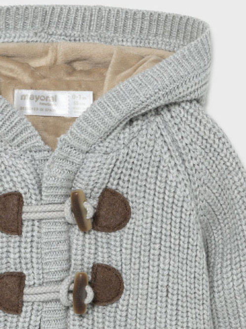 Light Grey Sweater Coat
