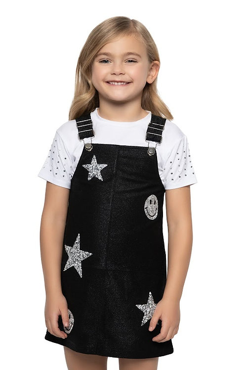 Embellished Patch Overall