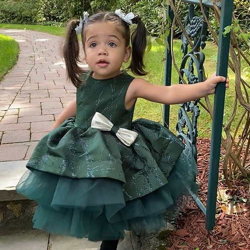 Emerald Holiday Dress