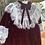 Thumbnail: Burgundy Velvet Holiday Dress