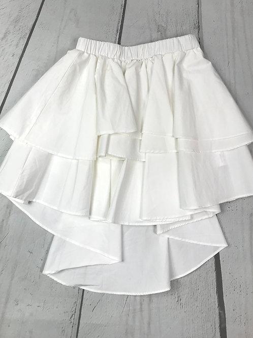 Hi Lo Tiered Skirt