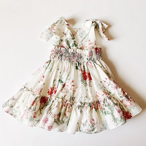 Floral Dress w All over Print