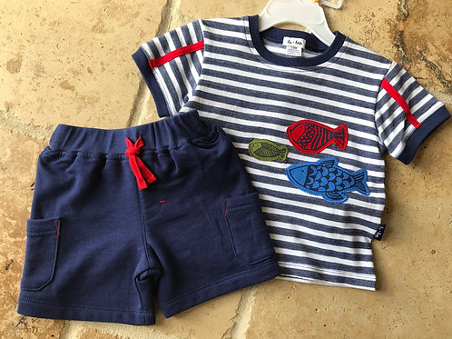 2pc Under the Sea Tee and Shorts