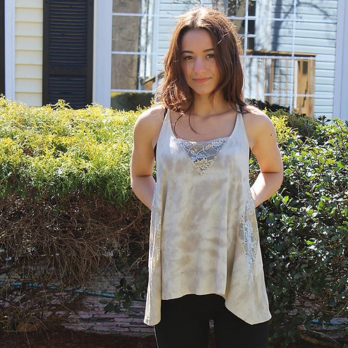 Forest Foggy Knit Top
