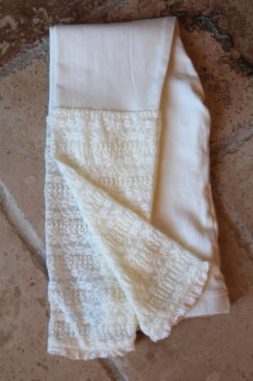 Ivory Legging w/ Detail
