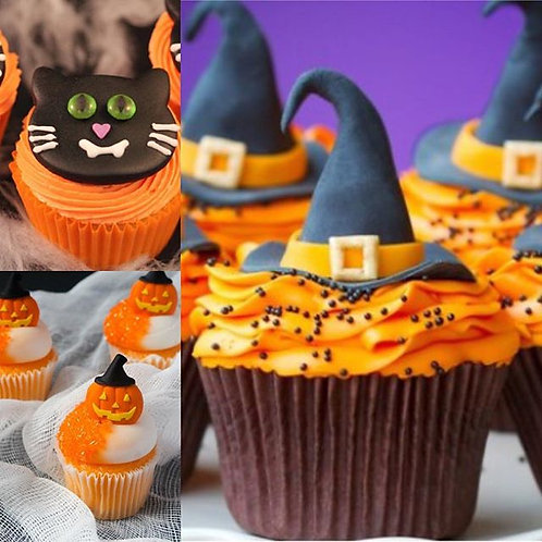 Children's Halloween Cupcake Class