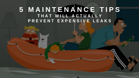 Maintenance Tips, Leaks