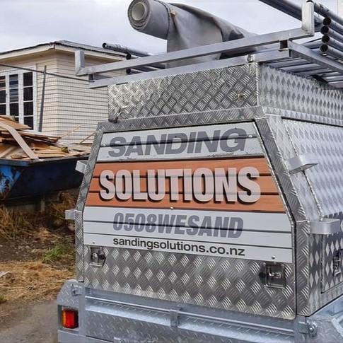 Sanding Solutions New Zealand - Trailer