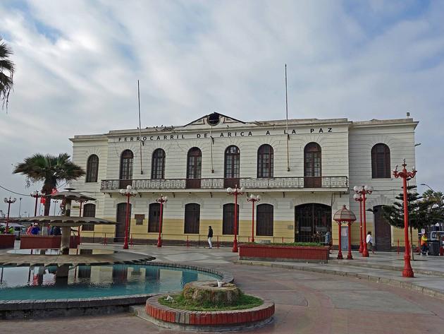 La Paz Railway station