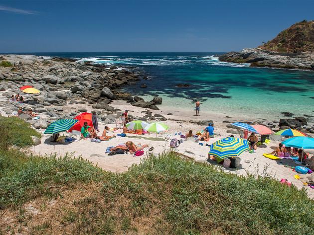 Beaches in the region