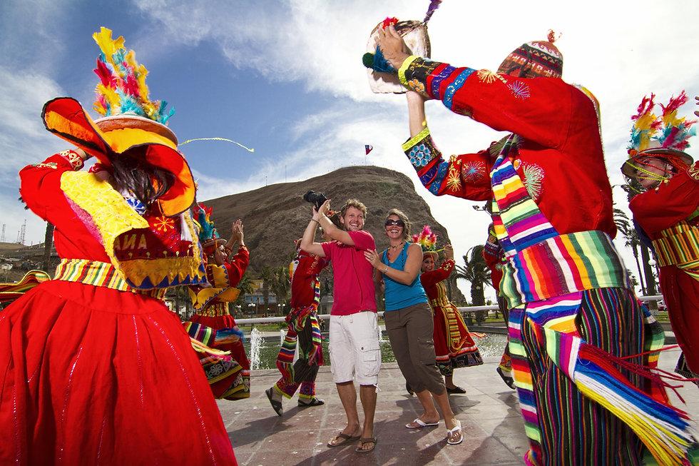 Arica - Carnaval con La Fuerza del Sol A