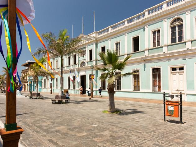 Baquedano Street World Heritage
