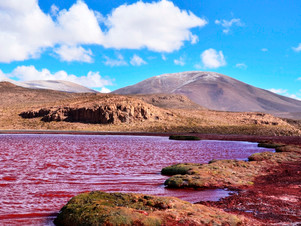 The Mysterious Red Lagoon