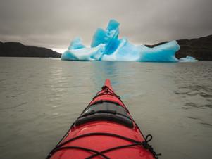 Kayaking at Grey Lake