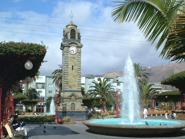 Main square Antofagasta