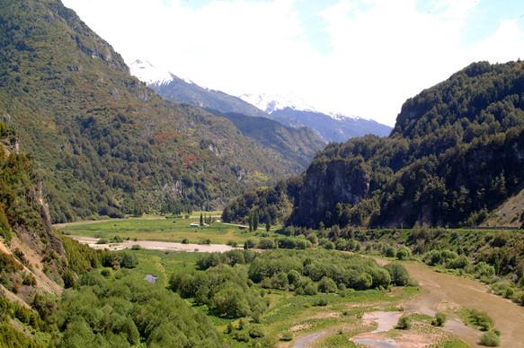 Simpson River valley