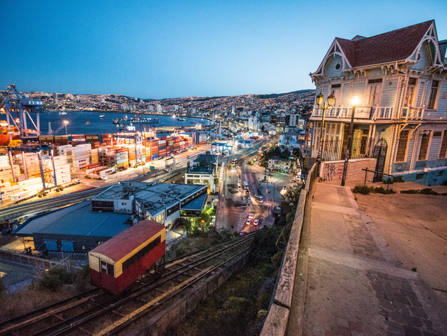 Funiculares in Valparaiso