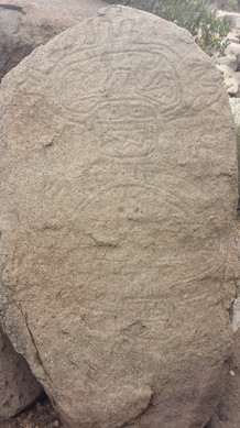 Petroglyphs at Enchantment Valley