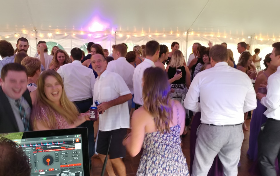 Perfect Sounds Wedding Reception