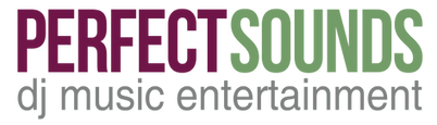 Perfect Sounds DJ Music Entertainment Logo